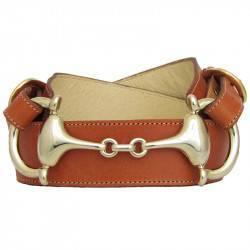 Cinturón C154 señora vaquetilla bocado