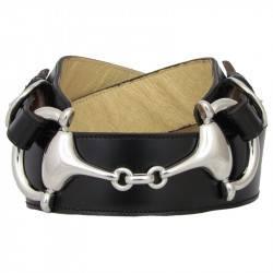 Cinturón C154 señora piel bocado