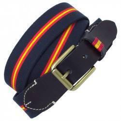 Cinturón MV36313 elástico bandera España